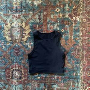 lululemon Fitted Crop Top
